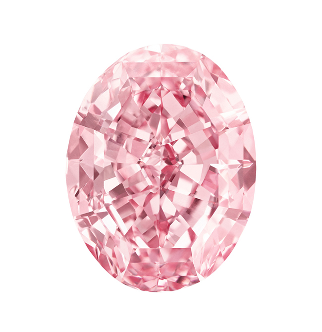 59carat Pink Star Diamond Sothebys