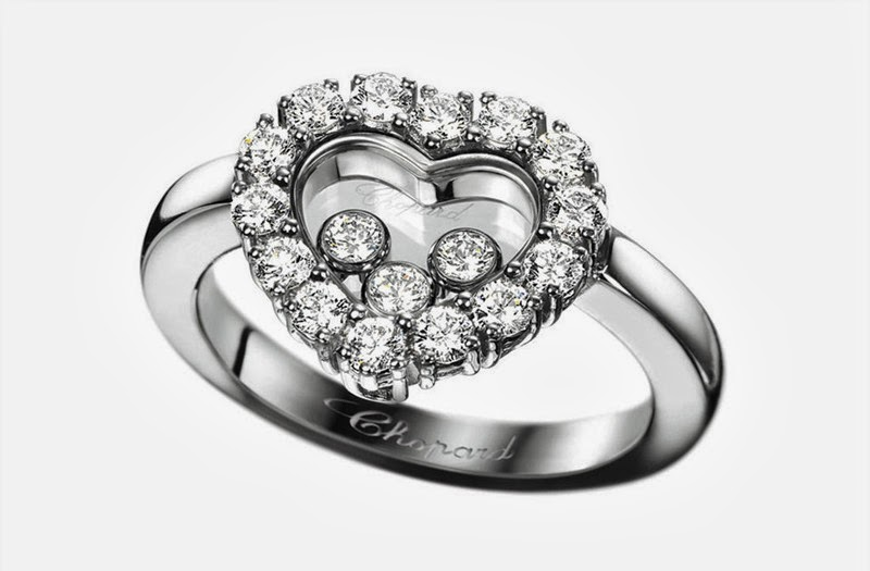 Chopard engagement ring collection