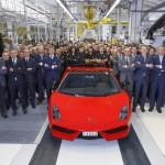 Lamborghini Gallardo ukončilo výrobu