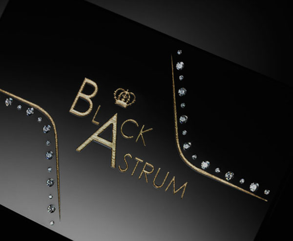 Black Astrum Signature Card