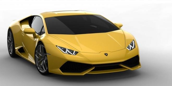 Lamborghini_Huracan yellow