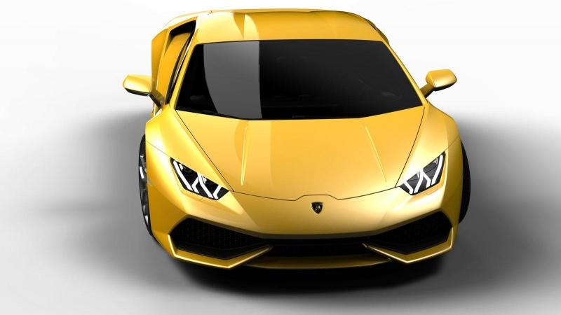 Lamborghini_Huracan yellow1