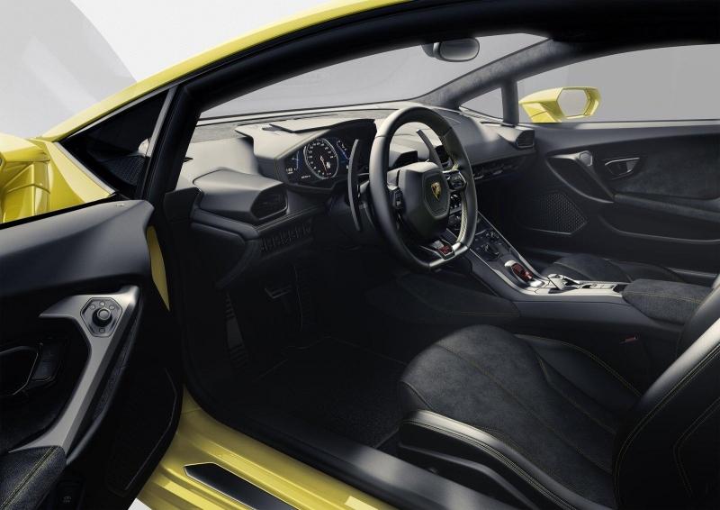 Lamborghini_Huracan_interier