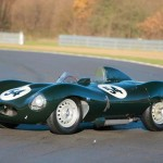 1955 Jaguar D-Type prodán za 92,5 miliónu