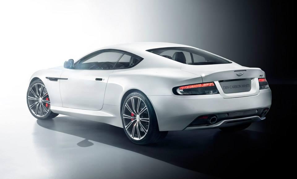 Aston Martin DB9 Carbon Black_Aston Martin DB9 Carbon White