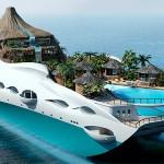 Luxusní jachta – Tropical Island Paradise Yacht