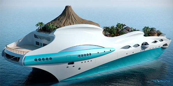 Tropical Island Paradise Yacht 2