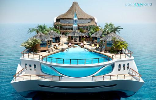 Tropical Island Paradise Yacht 4