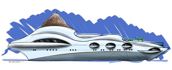 Tropical Island Paradise Yacht 8