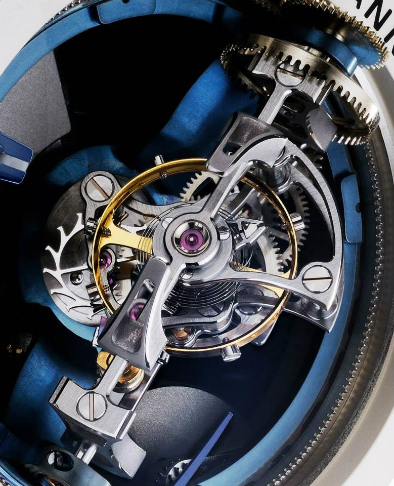 Vianney Halter Deep Space Tourbillon 4