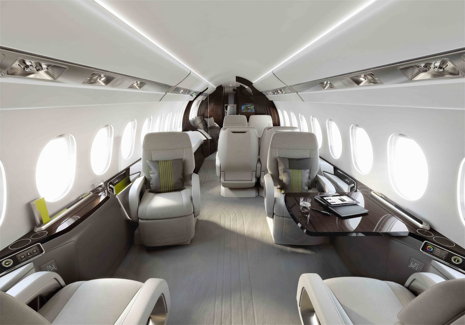 Falcon 5X Private Jet 10