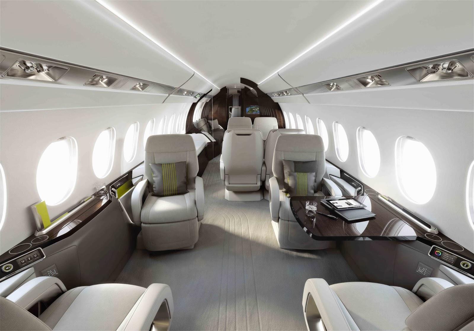 Falcon 5X Private Jet 10