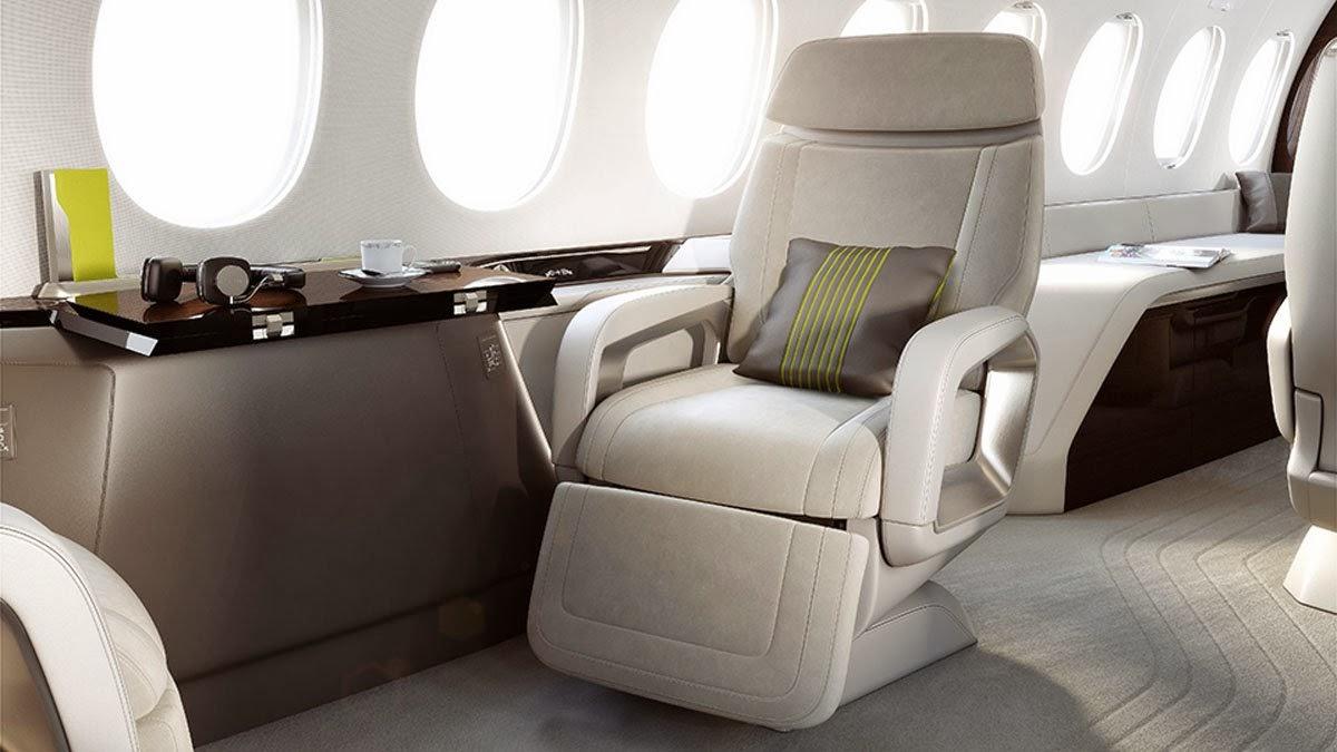 Falcon 5X Private Jet 12