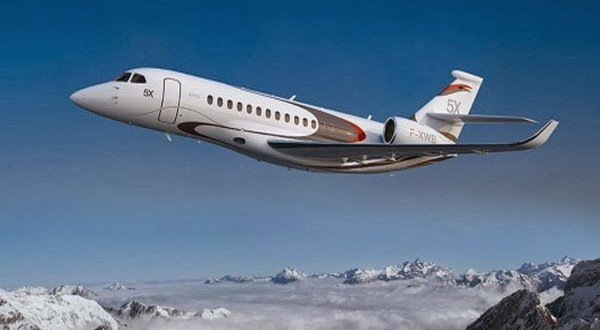 Falcon 5X Private Jet 2