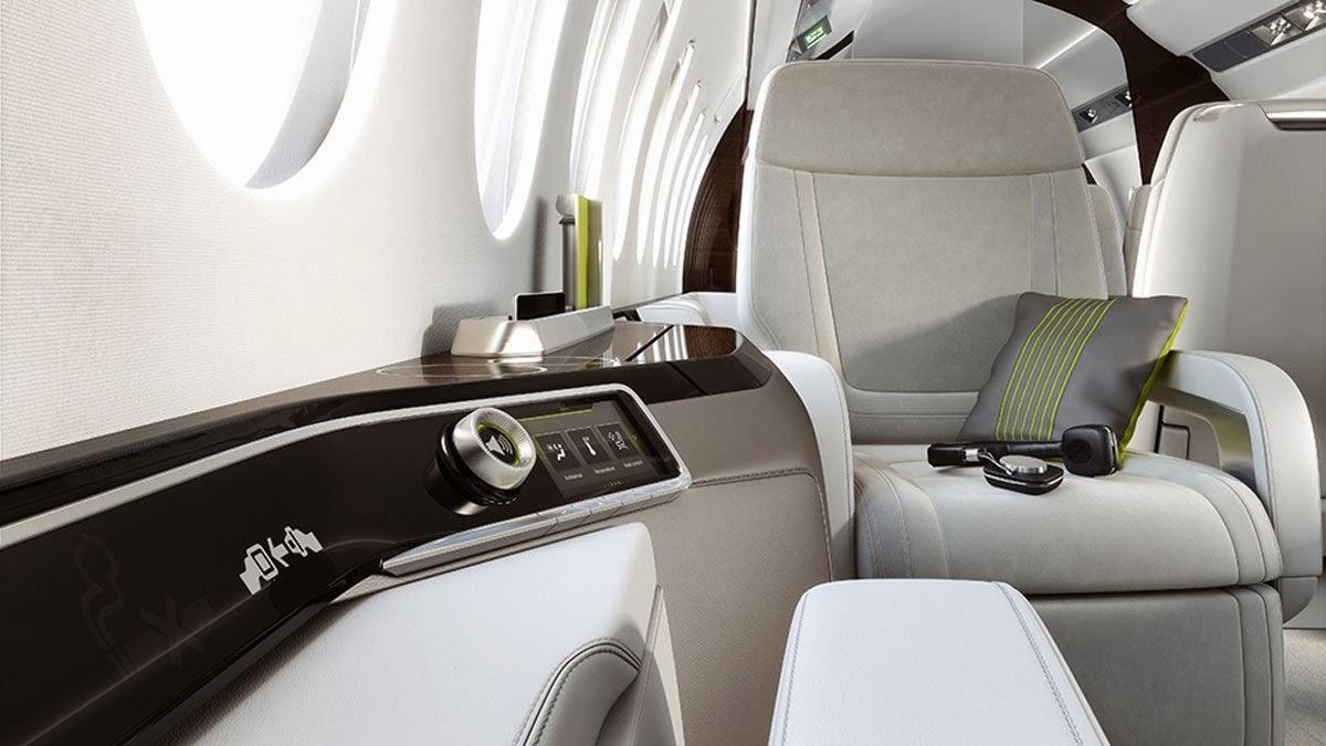 Falcon 5X Private Jet 6