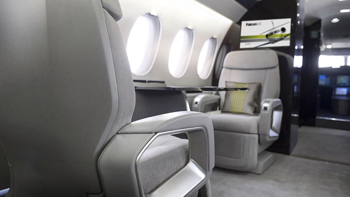 Falcon 5X Private Jet 7