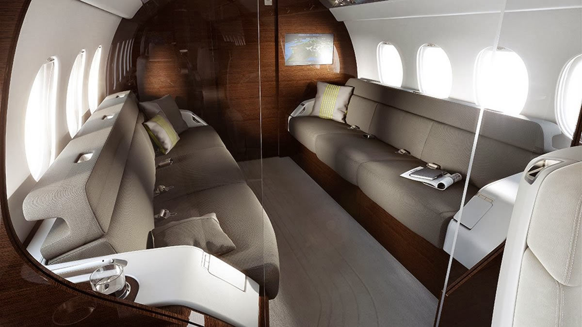 Falcon 5X Private Jet 8