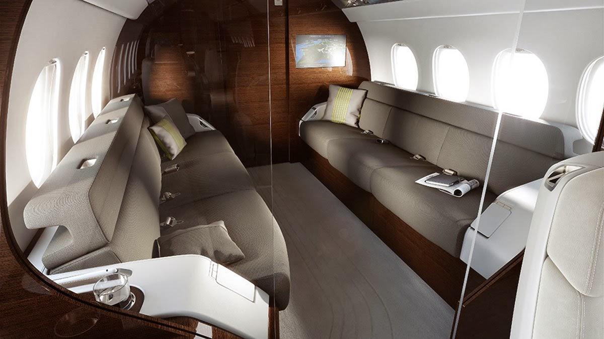 Falcon 5X Private Jet 8
