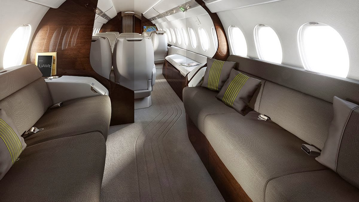 Falcon 5X Private Jet 9
