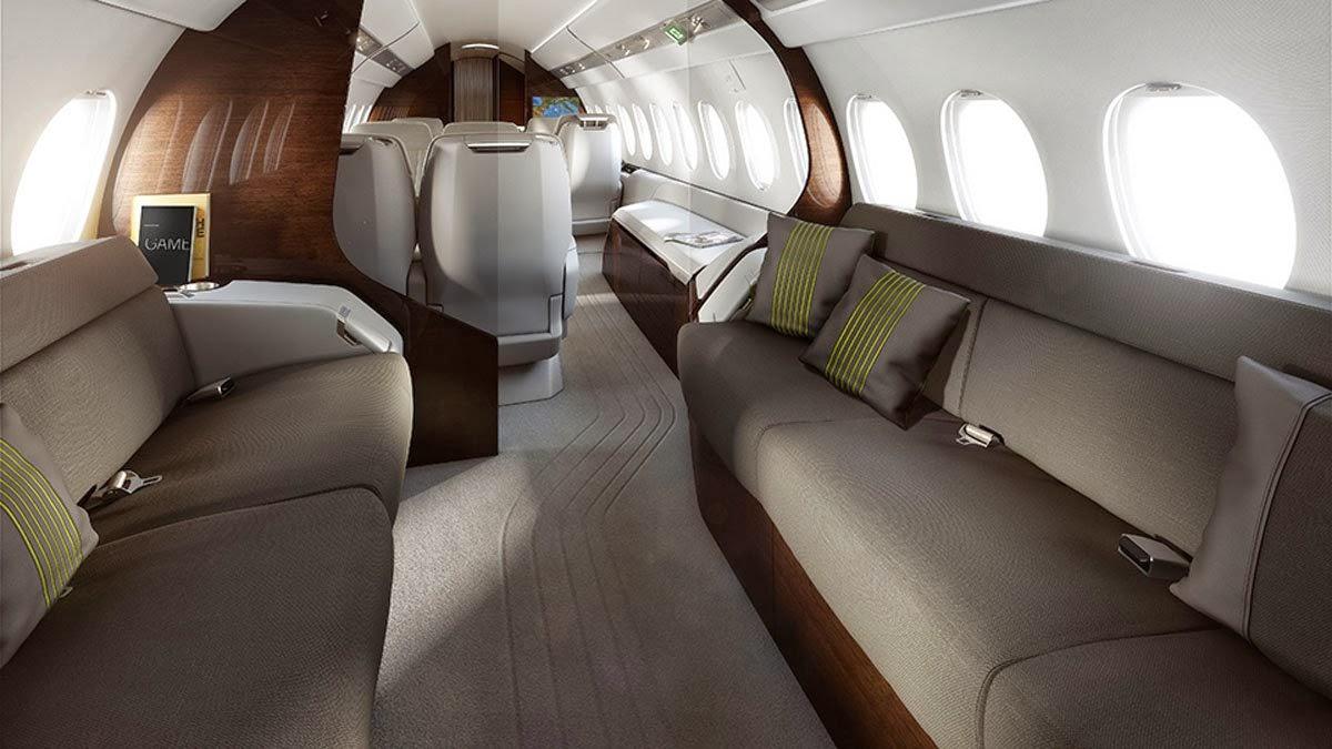 Falcon 5X Private Jet 9