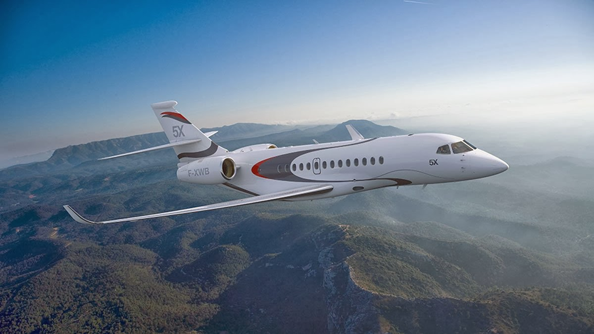 Falcon 5X Private Jet