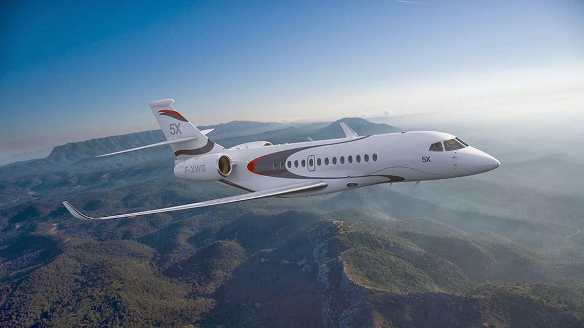 Falcon 5X Private Jet