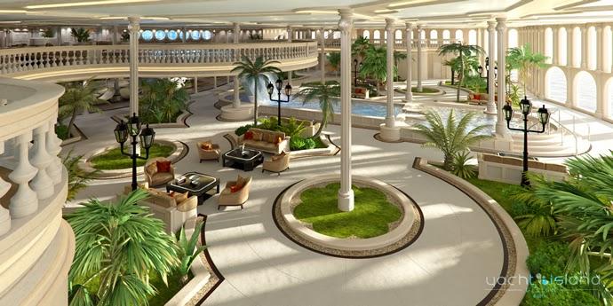 Yacht Island Design - Monaco yacht 1