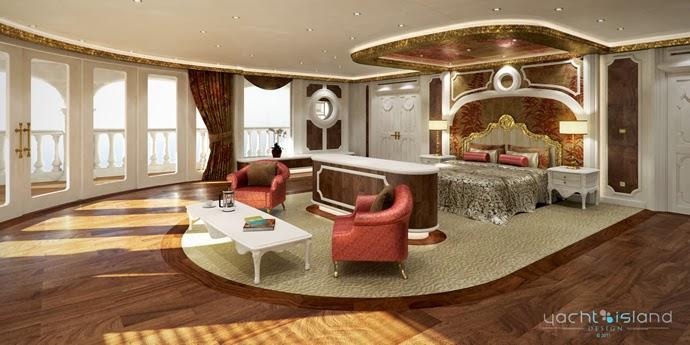 Yacht Island Design - Monaco yacht 2
