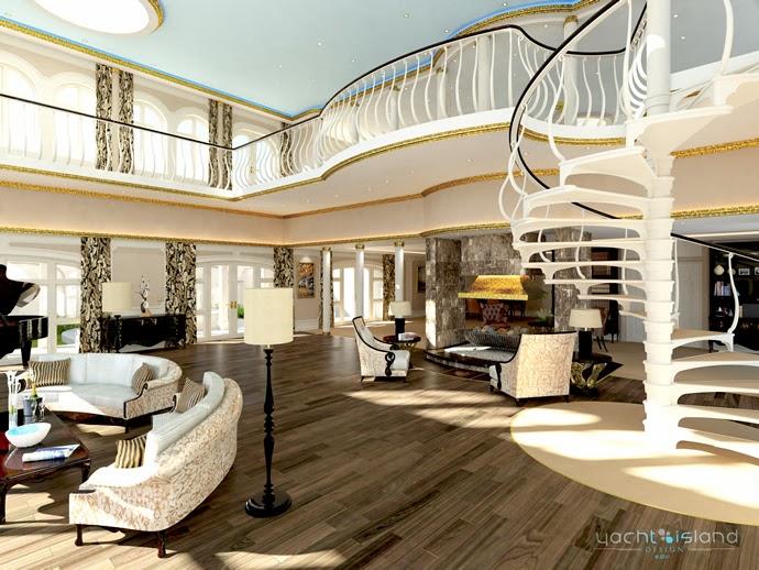Yacht Island Design - Monaco yacht 3