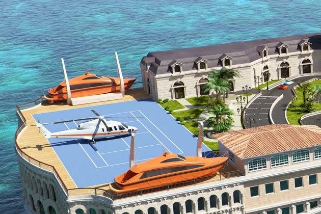 Yacht Island Design - Monaco yacht 4