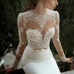 Opravdu luxusní svatební šaty – Berta Bridal Winter 2014