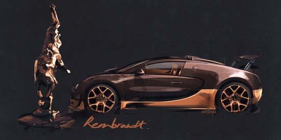 Bugatto Veyron Grand Sport Vitesse Rembrandt 5