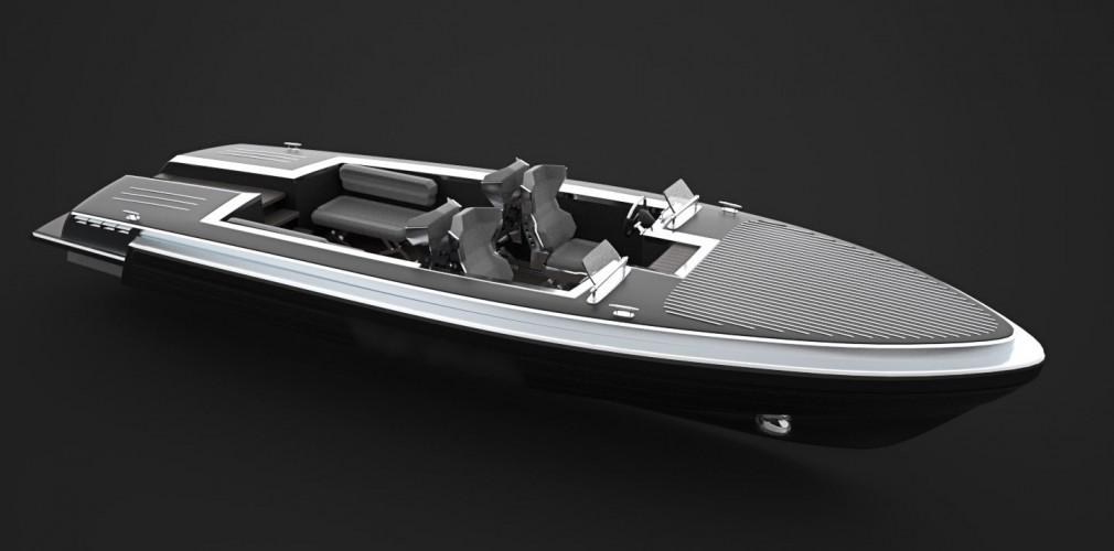 Pinstripe yacht