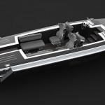Pinstripe – stylový motorový člun