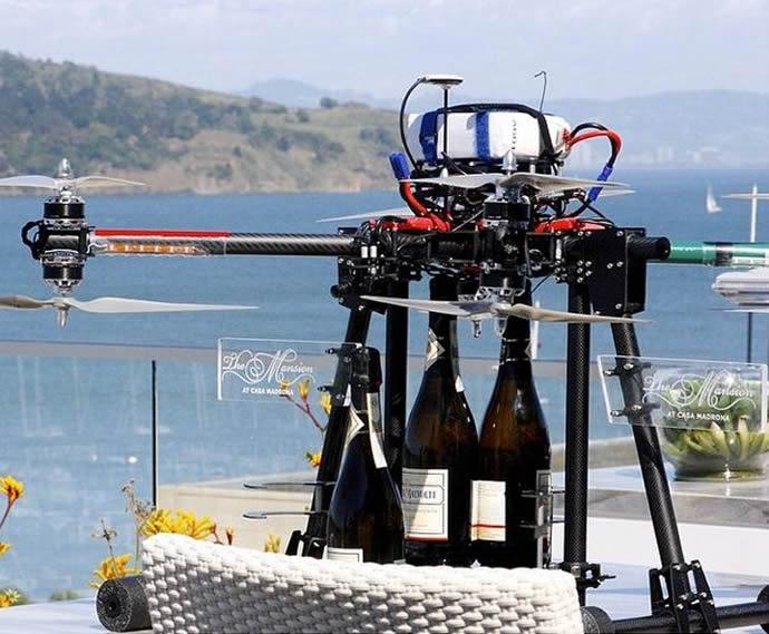 Casa Madrona Champagne Drone