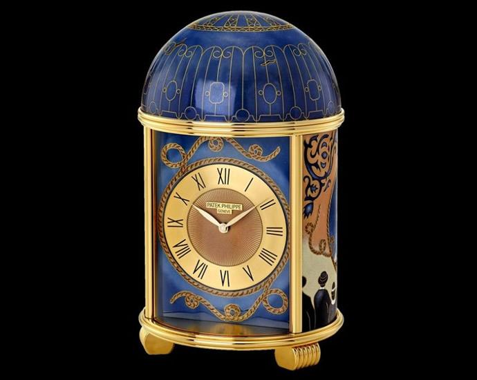 patek philippe titanic clock