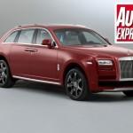 Rolls Royce plánuje luxusní SUV