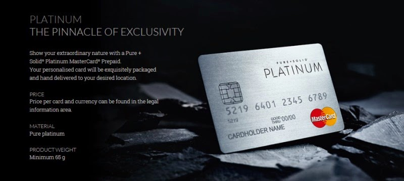 Pure+Solid MasterCard Platinum