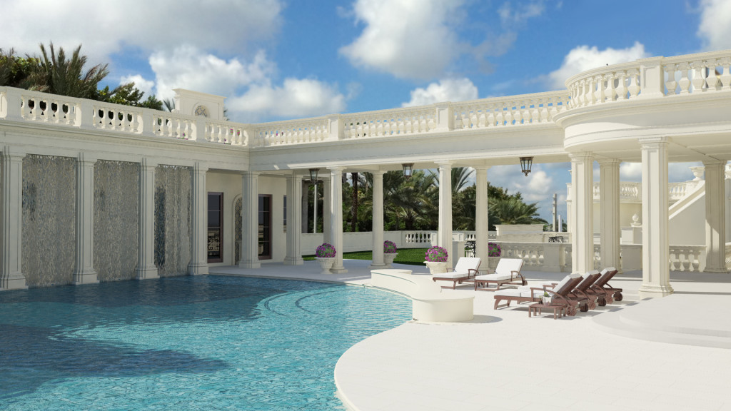 Le Palais Royal - luxusni dum bazen