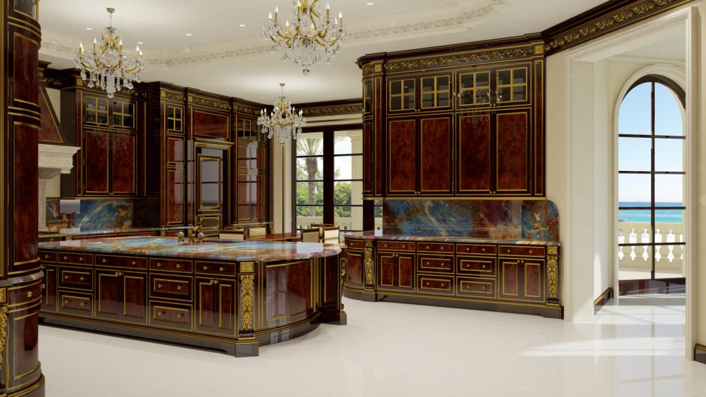 Le Palais Royal - luxusni kuchyn