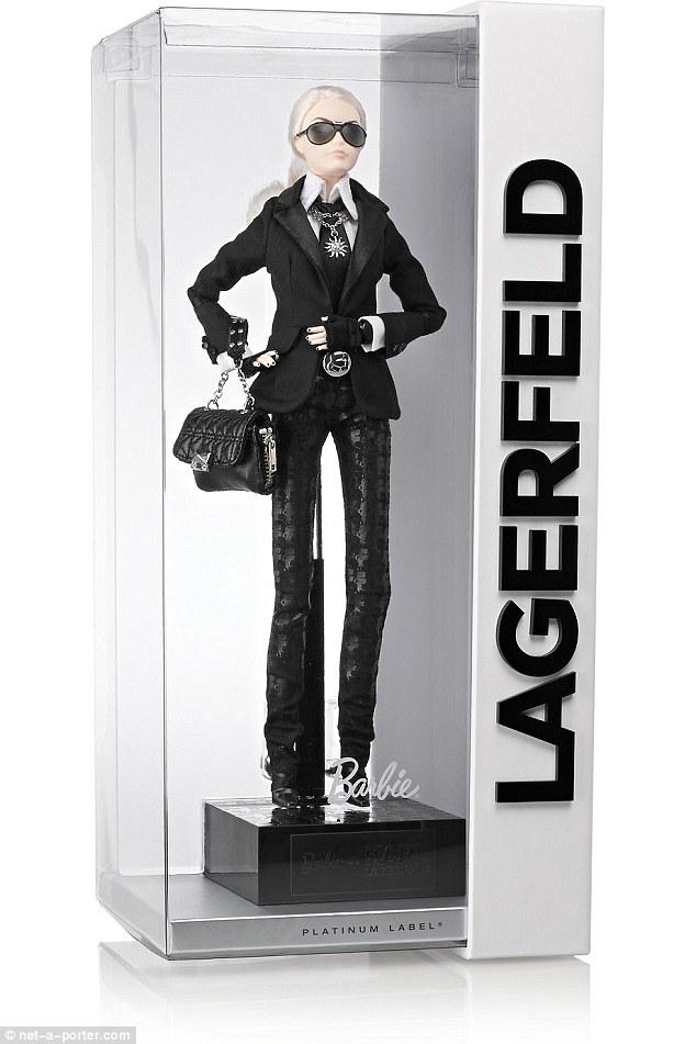 Mattel Barbie Karl Lagerfeld