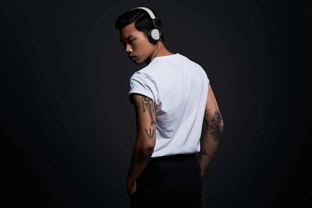 luxusní sluchátka