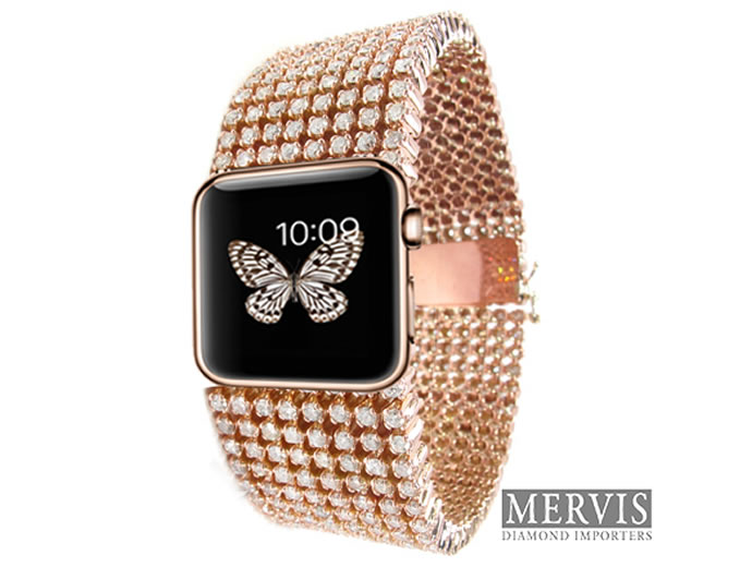 Apple-Watch-diamond-iwatch-mervis diamond importers