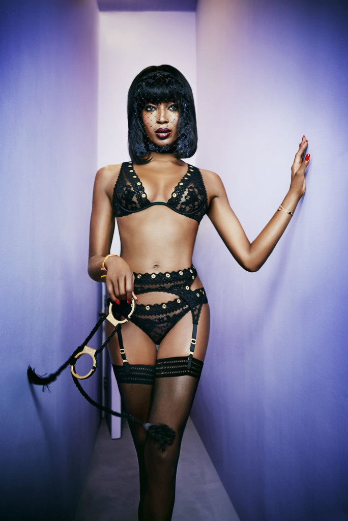 Naomi Campbell Agent Provocateur 1