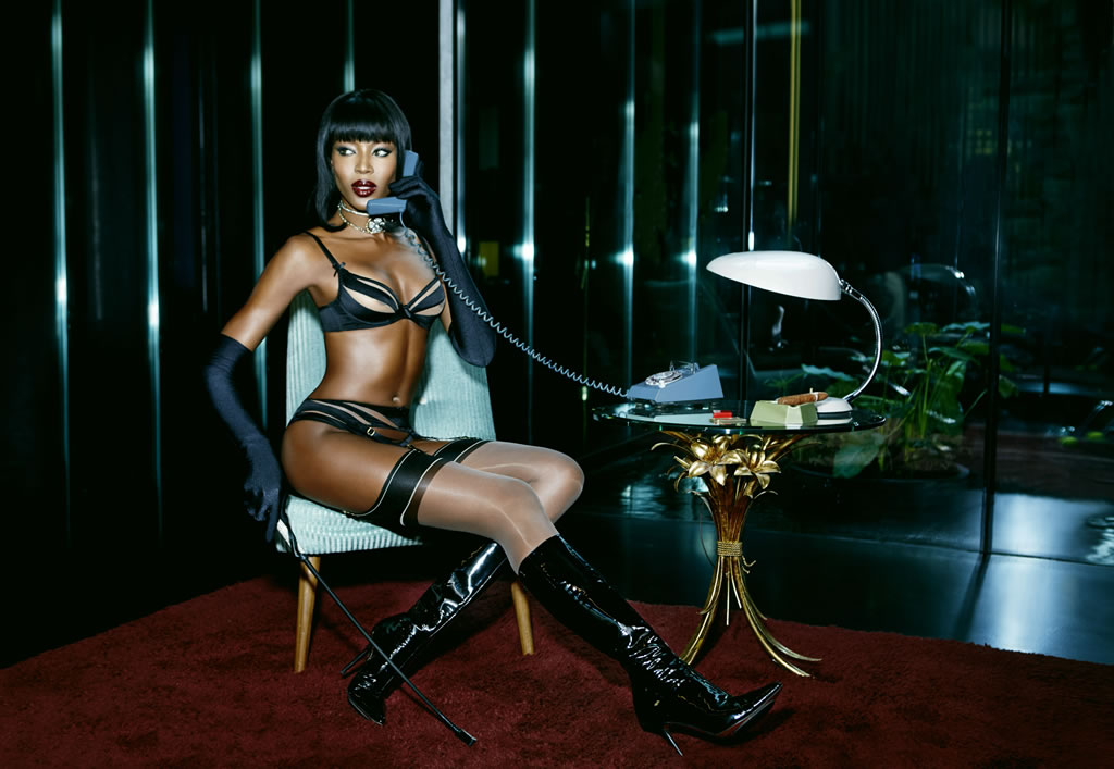 Naomi Campbell-Agent Provocateur