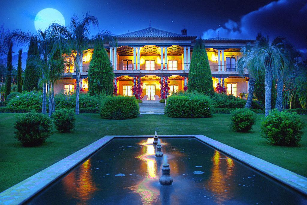 luxury mansion marbella