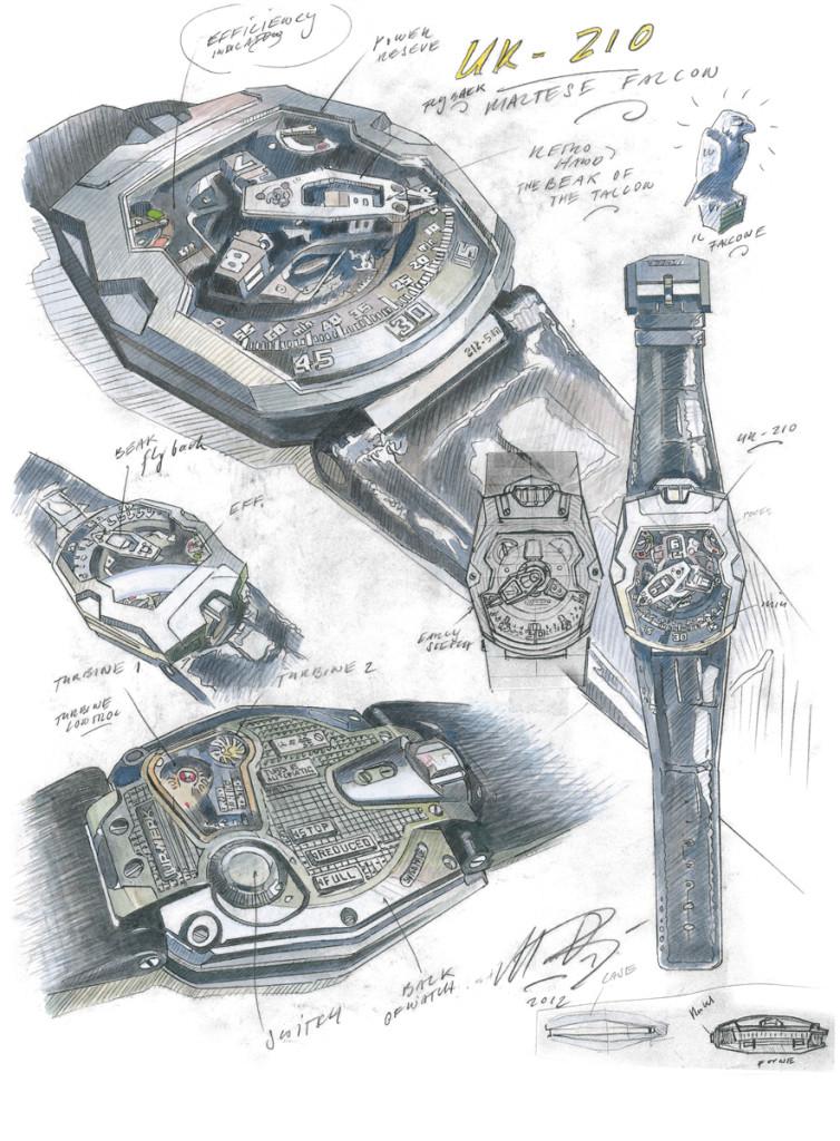 luxusni hodinky URWERK
