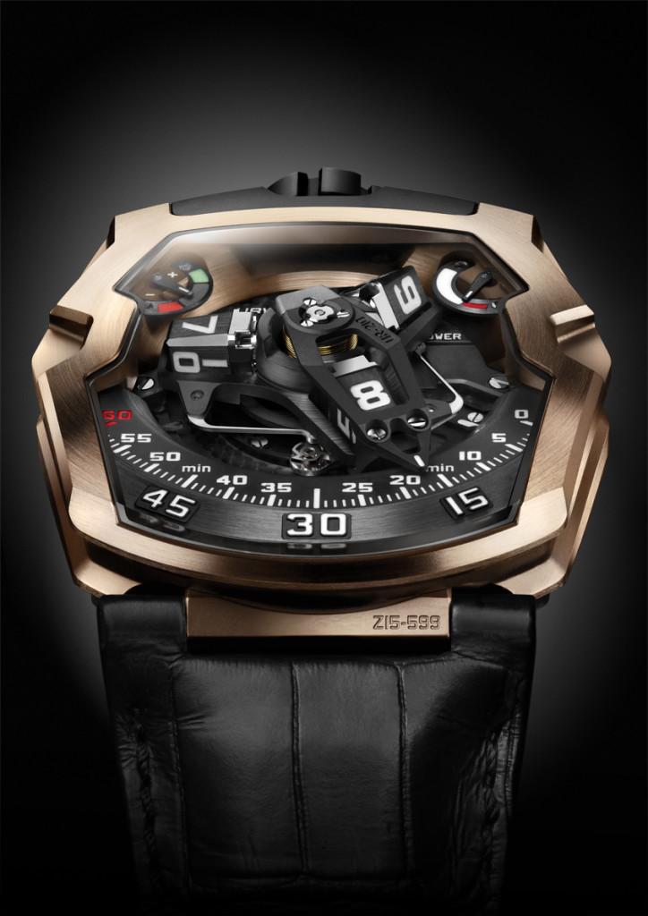 luxusni hodinky URWERK UR-210