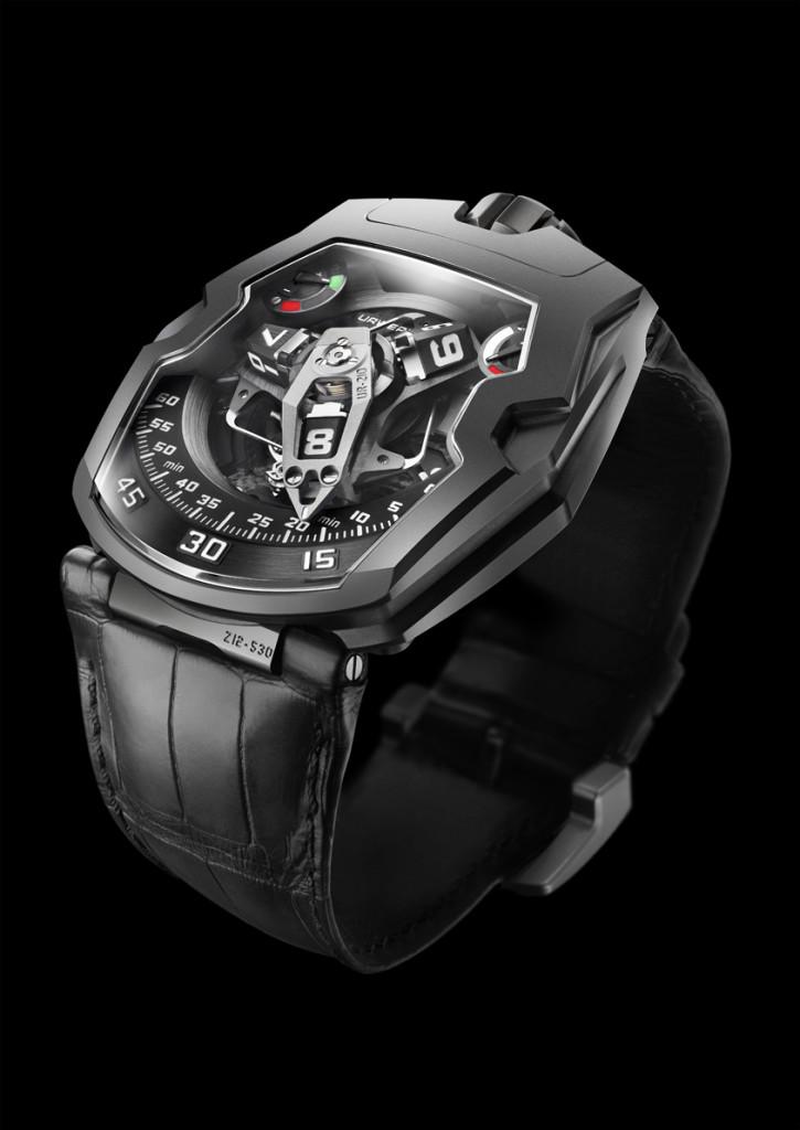 luxusni titanove hodinky URWERK