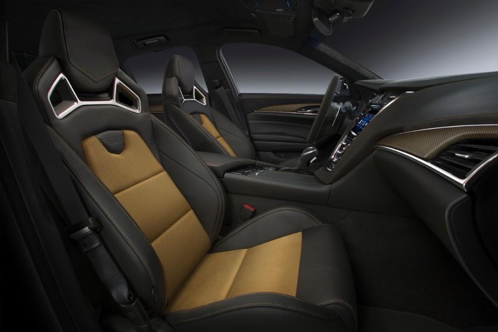Cadillac CTS-V 2016 interior